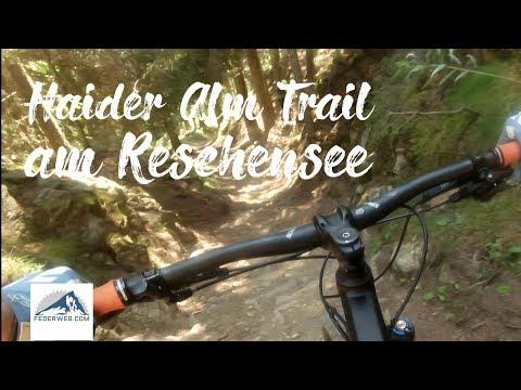 Haideralm Trail (Nr. 90) - 3 Länder Enduro Trails am Reschenpass