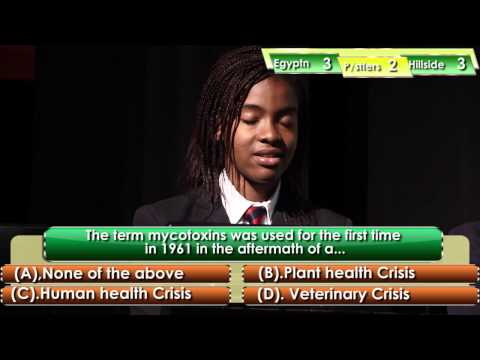 Epsiode 4 NAFDAC SHINE - Hill side School vs Nigerian Egyptian Vs Pacesetters College