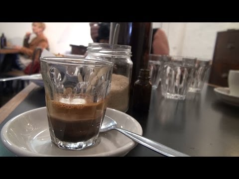 The coffee story in Melbourne Australia