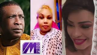 VOICI LA REACTION DE AMINA POTE SUR LE SUPPOSE MARIAGE ENTRE YOU ET MBATHIO