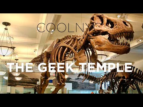 THE GEEK TEMPLE (MUSEUM OF NATURAL HISTORY)