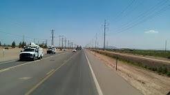 Casa Grande, Arizona Oversize load coming through!