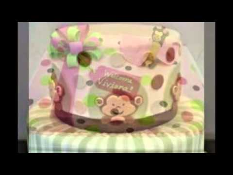 Monkey Baby Shower Cake Youtube