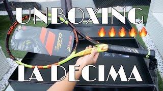 Unboxing Babolat Pure Aero Decima - SIGNED BY RAFAEL NADAL