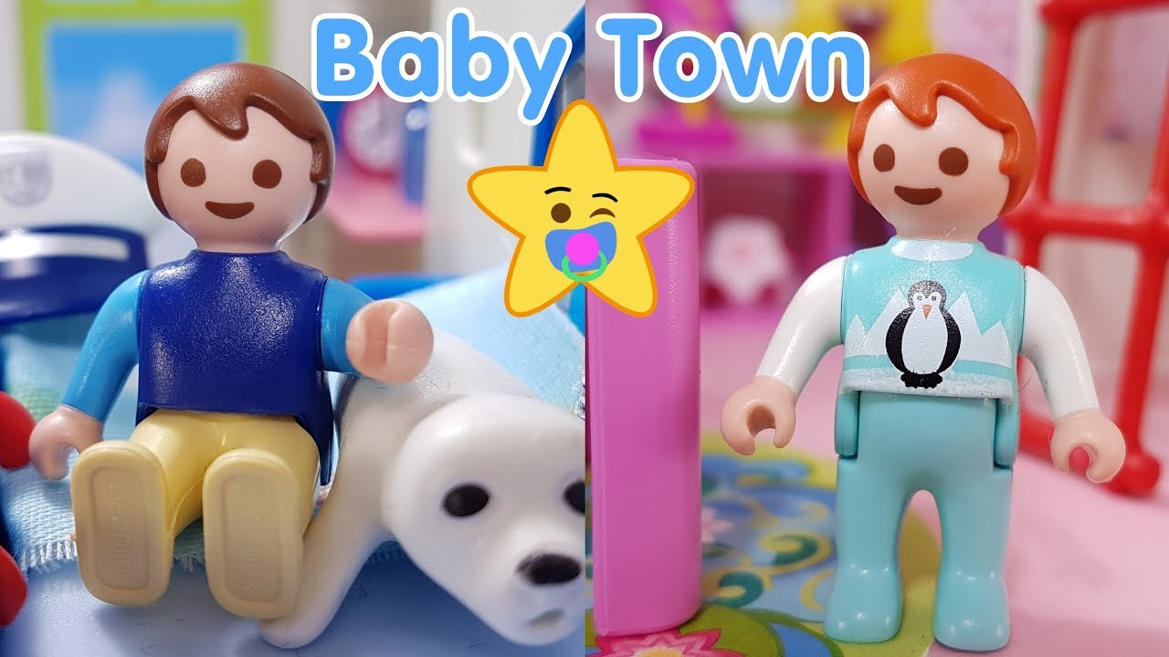 Playmobil Baby Town Roomtour Jungs Madchen Zimmer Kinder