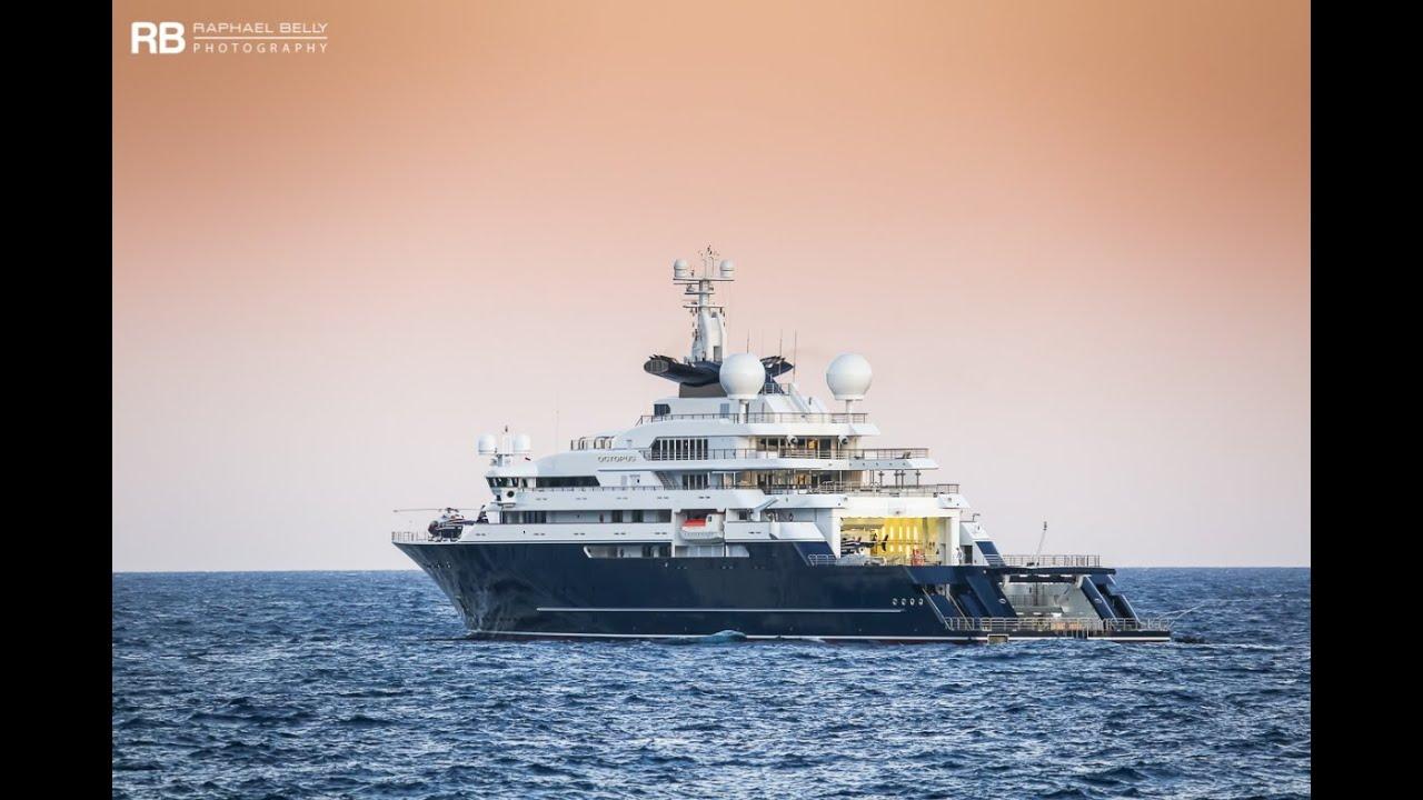 See Paul Allen S Crazy Us 250 000 000 Octopus Yacht
