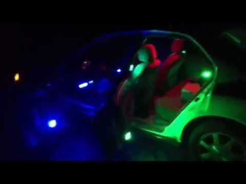 bright led interior lights strobing in honda accord youtube. Black Bedroom Furniture Sets. Home Design Ideas