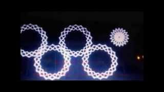 """видео: На Олимпиаде открылись 4 кольца - Пророчество о 4 """"кровавых лунах"""", третья мировая"""