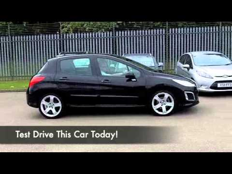 peugeot 308 diesel hatchback 2011 1 6 e hdi 112 allure 5dr dg61oxh youtube. Black Bedroom Furniture Sets. Home Design Ideas