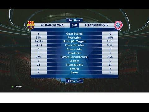 Last love#PES2016 Barcelona 3-0  Bayern München