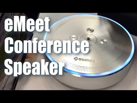 eMeet OfficeCore M1 Bluetooth Omni Directional Conference Speaker Review