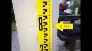 工事測量の株式会社マルソク URL http://www.marusok.com/ レベルの読みを説...