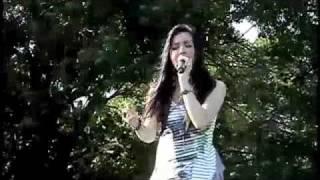 Anna Maria Perez de Tagle singing Jonas Brothers song