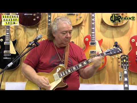 GuitarPoint / Maintal - Vintage Show 2018 / Clinic - Bernie Marsden 1959 Gibson Les Paul  Standard