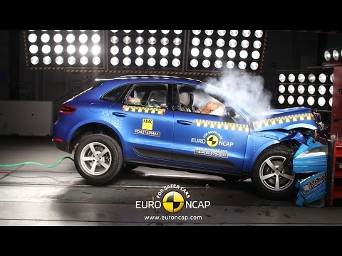 Porsche Macan Crash Test Euro NCAP