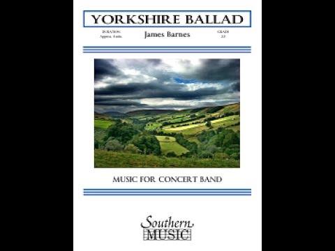 Yorkshire Ballad by James Barnes