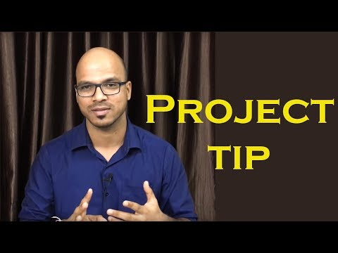 Final Year Project Tips