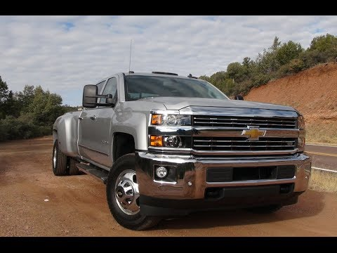 2015 Chevy Silverado 3500 HD Diesel 4WD First Drive Review ...