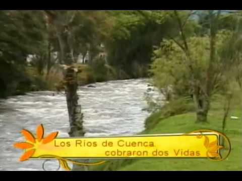 Los ríos de Cuenca cobraron dos vidas