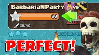 3 STAR EVERY BASE   Clash of Clans   How to get a Perfect War