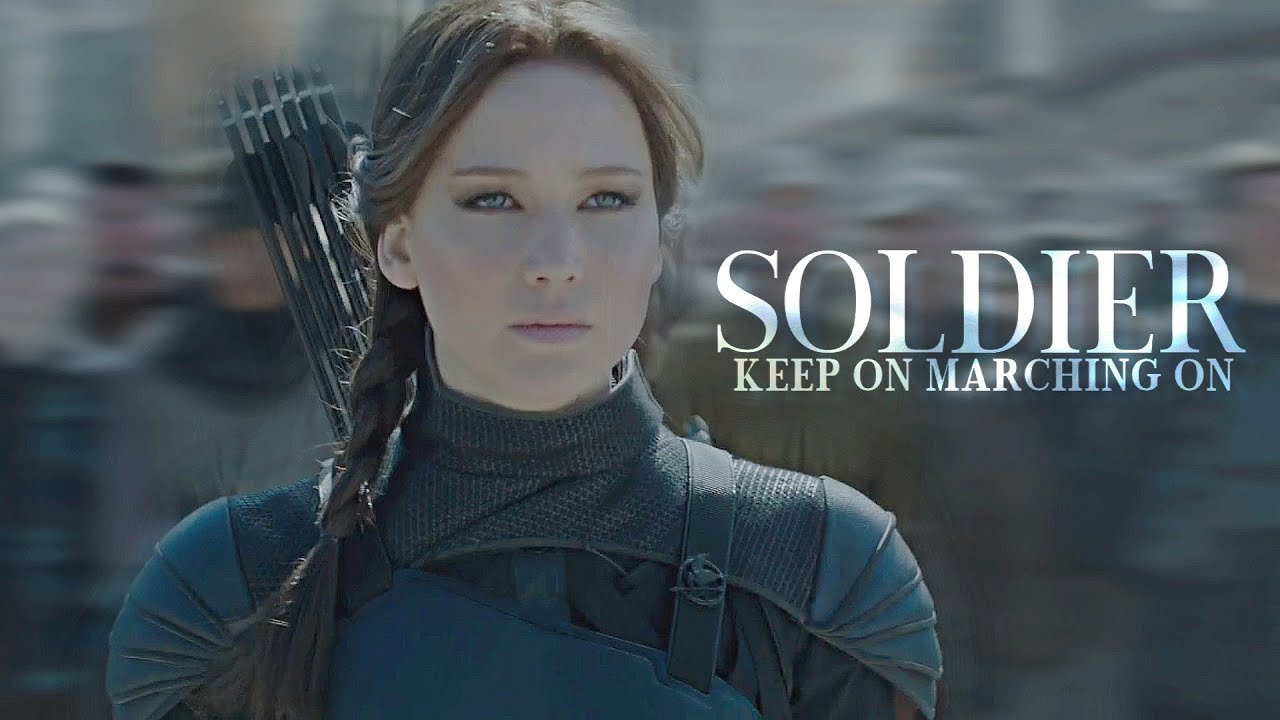 Download Katniss Everdeen   Soldier