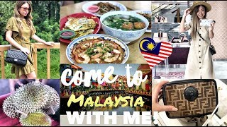 COME TO MALAYSIA WITH ME! LUXE SHOPPING + FOOD   GUCCI, FENDI, HERMES