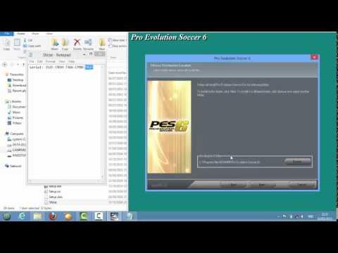 Cara Instal PES 2006 di LAPTOP atau PC - YouTube
