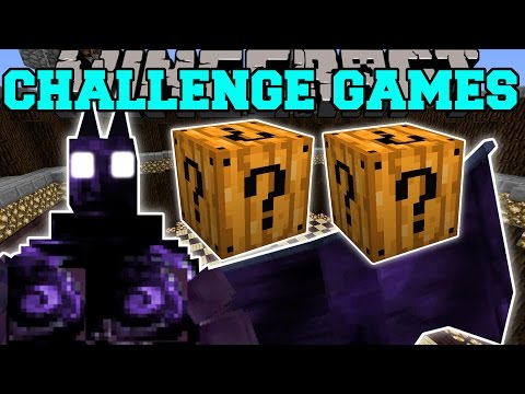 Minecraft: DARK OPAL DEMON CHALLENGE GAMES - Lucky Block Mod - Modded Mini-Game