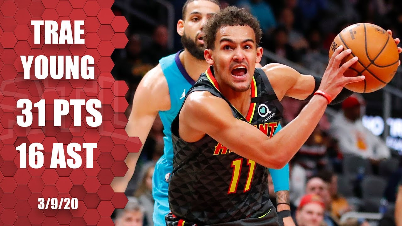 Trae Young scores 31 points vs. Hornets in 2OT madness | 2019-20 NBA Highlights