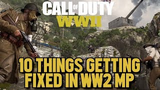 10 Things Sledgehammer is Fixing in the World War 2 Multiplayer Beta  (CoD: WW2 Beta Gameplay)
