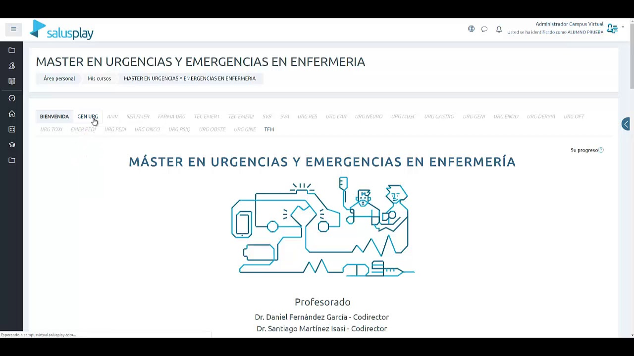 Master Urgencias Y Emergencias Estructura Y Dinamica