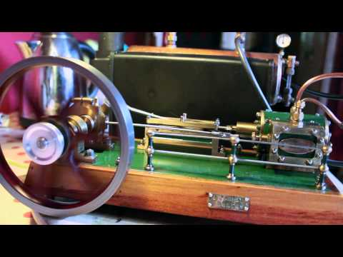 Green Steam Engine and 501 boiler