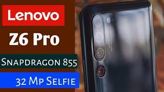 Lenovo Z6 Pro..Best Premium Phone... Unbelievable Features