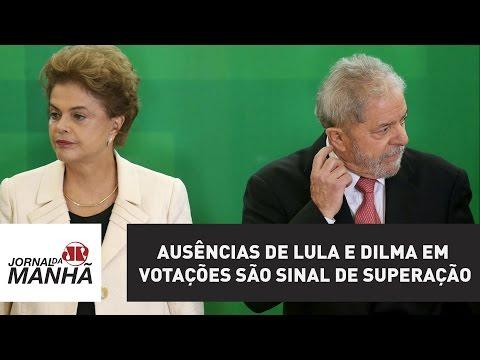 Ausências de Lula e Dilma em votações são sinal de superação das lideranças do PT   Jovem Pan
