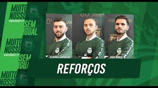 Futsal: Três reforços para 2019/20