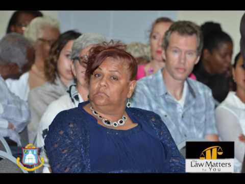 DCOMM LECTURE SERIES : THE LAW MATTERS TO YOU BY JUDGE M DE KORT PART 1