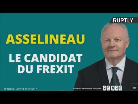 EN DIRECT : François Asselineau clôt sa campagne avec un meeting à Strasbourg