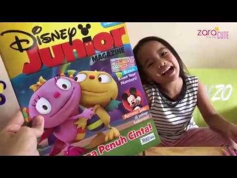 Home Schooling | Belajar Pakai Buku Disney Junior Magazine Keluarga Penuh Cinta