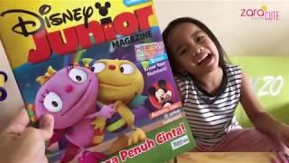 Home Schooling | Belajar Pakai Buku Disney Junior Magazine Keluarga Penuh Cinta | Review Buku Anak