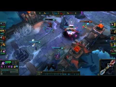 Morgana 30 Kills In 33 Min Item Build 715 Aram Youtube