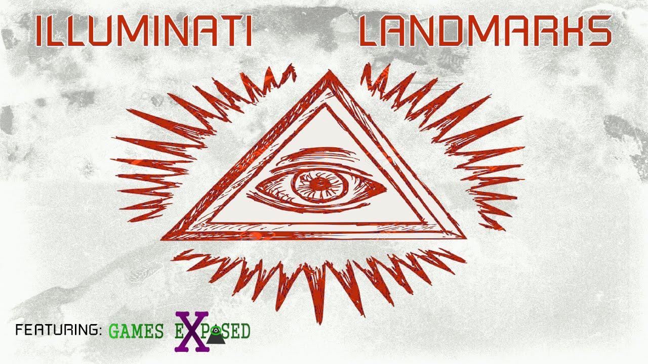 Illuminati Landmarks (Featuring Games Exposed) ▶️️ ODDTV