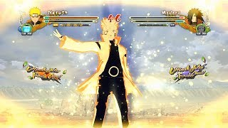 Naruto Ultimate Ninja Storm 3 Full Burst Naruto Sage of Six Paths vs Madara Gameplay (PC)