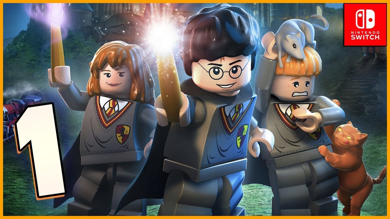 Lego Harry Potter Collection Hd Walkthrough Part 1 You Re A Wizard Harry Nintendo Switch Youtube