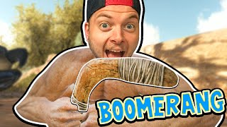 Ark: Scorched Earth! - CRAZY BOOMERANG! [#2]  Scorched Earth Gameplay 