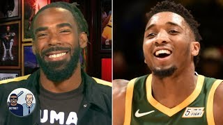Mike Conley is excited to join the Jazz and maximize Donovan Mitchell's game | Jalen & Jacoby