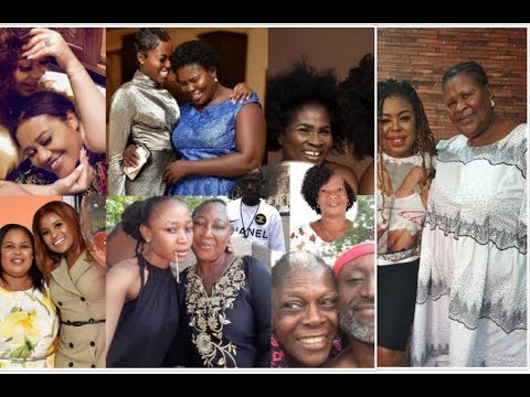 Ghana Celebs Show-off Their Beautiful Mums on MOTHERS DAY
