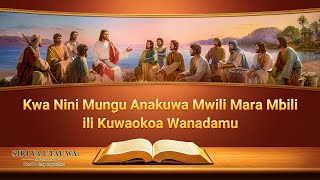 """""""Siri ya Utauwa: Mfuatano"""" (4) - Kwa Nini Mungu Anakuwa Mwili Mara Mbili ili Kuwaokoa Wanadamu"""