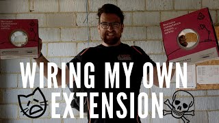 CAN I REMEMBER?! 1ST FIX WIRING! EP 31 - THE RENOVATION SERIES