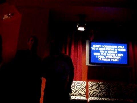 AC Murph and Pete Karaoke - Kiss From A Rose