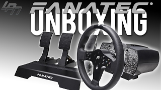 FANATEC CSL ELITE BASE, P1 WHEEL, PEDALS + LOADCELL KIT (UNBOXING/FIRST LOOK)